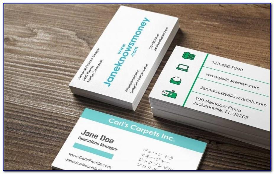Kinkos Business Card Printing Prices