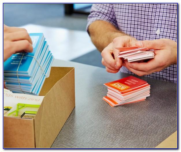 Kinkos Printing Business Cards