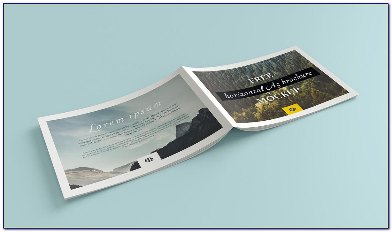 Landscape Brochure Mockups Free Download