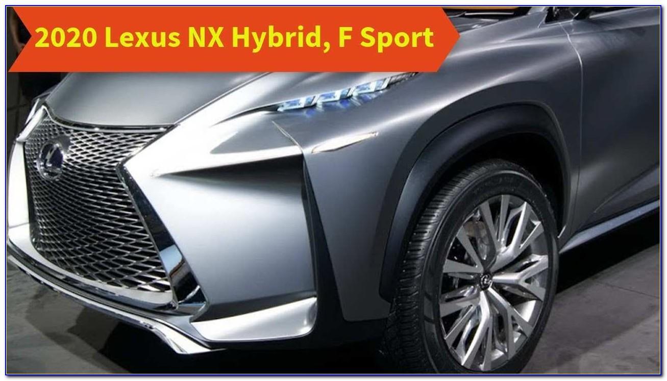 Lexus Nx Brochure 2018