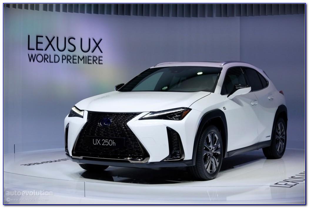 Lexus Nx Brochure 2020