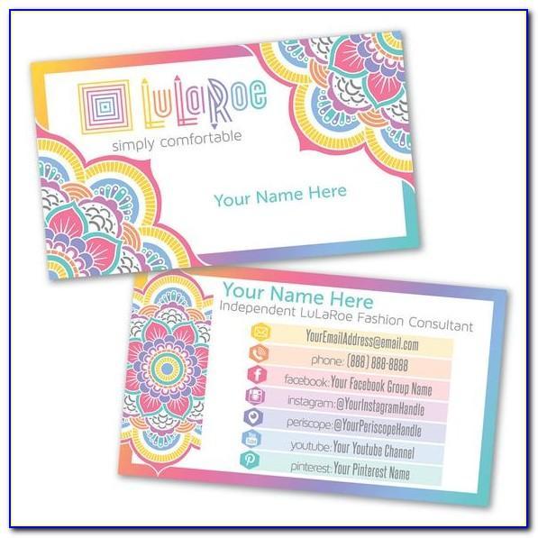 Lularoe Business Cards Vistaprint