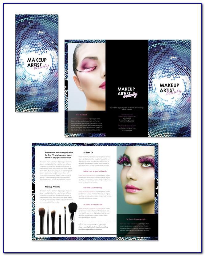 Makeup Brochure Template Free