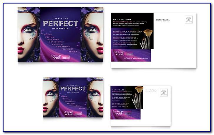 Makeup Brochure Template