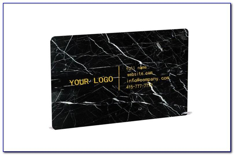 Marble Business Card Design