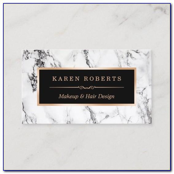 Marble Business Card Holder For Desk