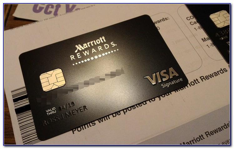 Marriott Rewards Business Card Benefits