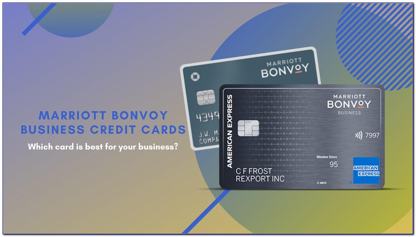 Marriott Rewards Premier Plus Business Card