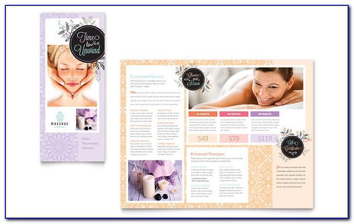 Massage Clinic Brochure Template