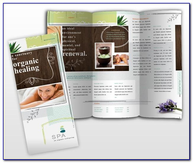 Massage Therapy Brochure Template