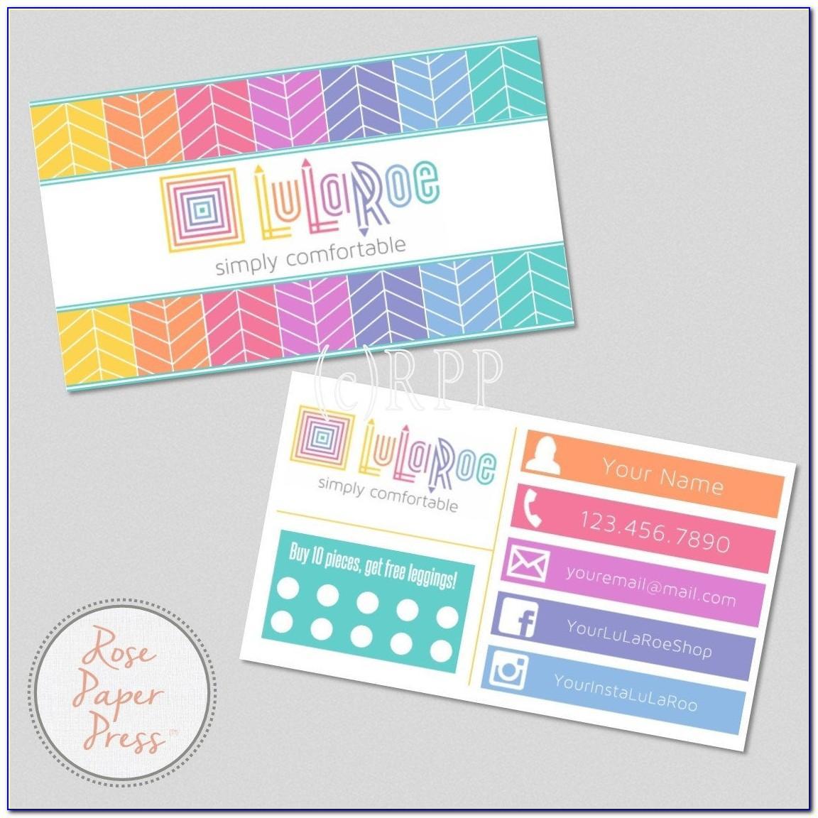 Matte Black Business Cards Design