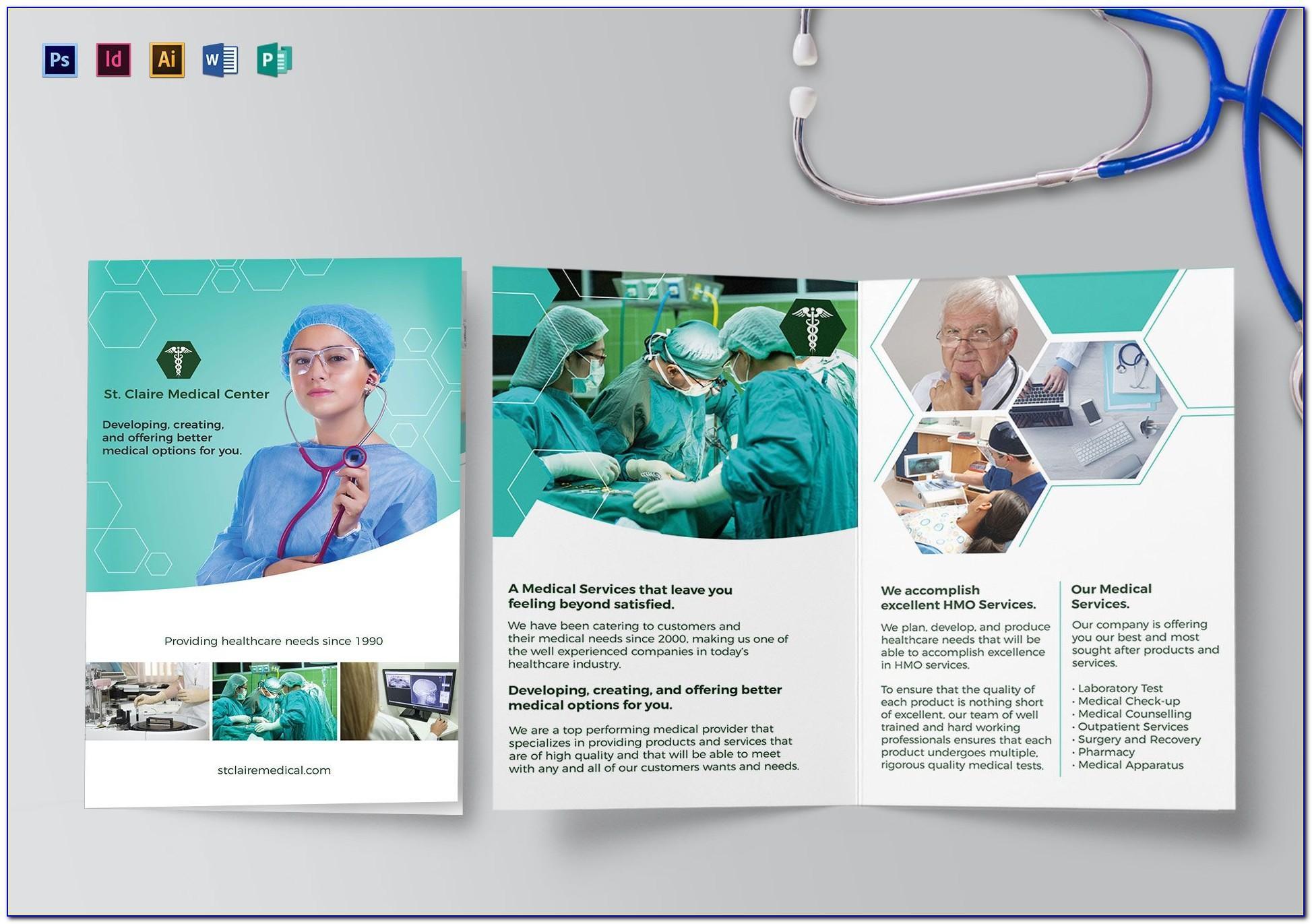 Medical Brochure Template Free