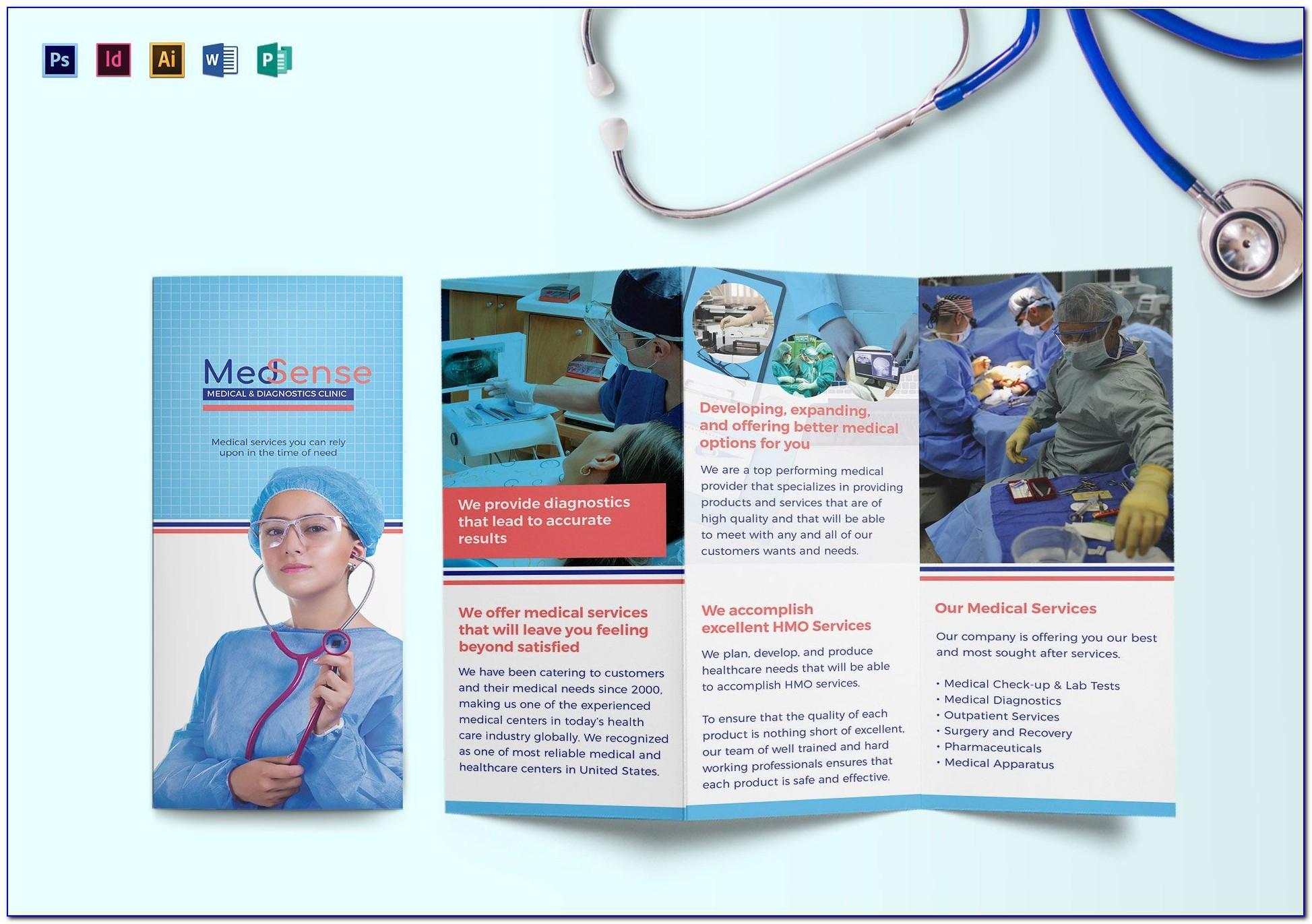 Medical Brochure Templates Microsoft Word