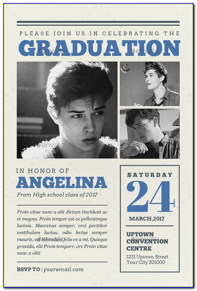 Medical School Graduation Newspaper Announcement