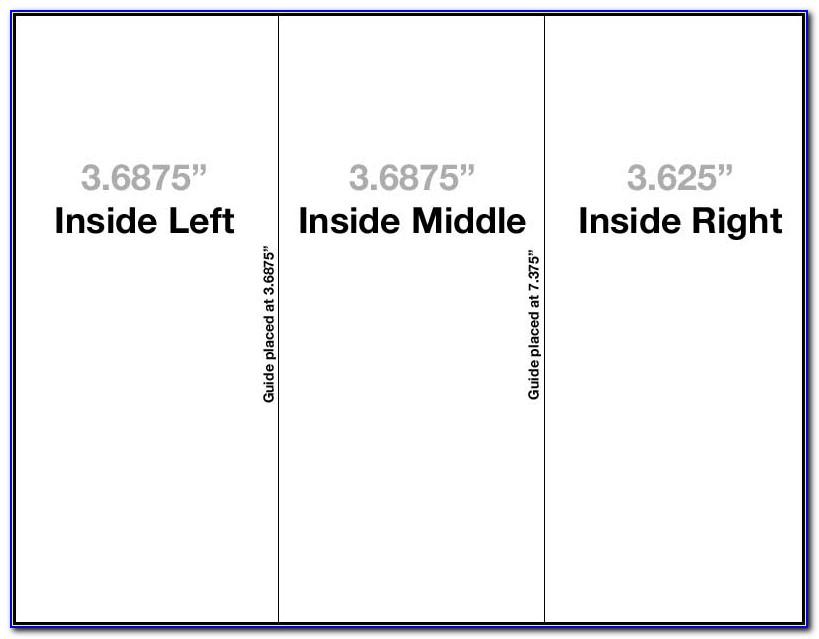 Microsoft Office Tri Fold Brochure Template