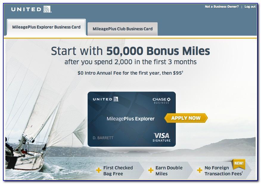 Mileageplus Explorer Business Card Benefits