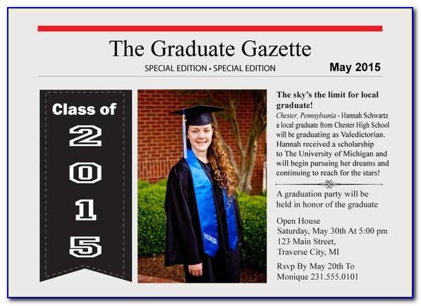 Military Graduation Newspaper Announcements