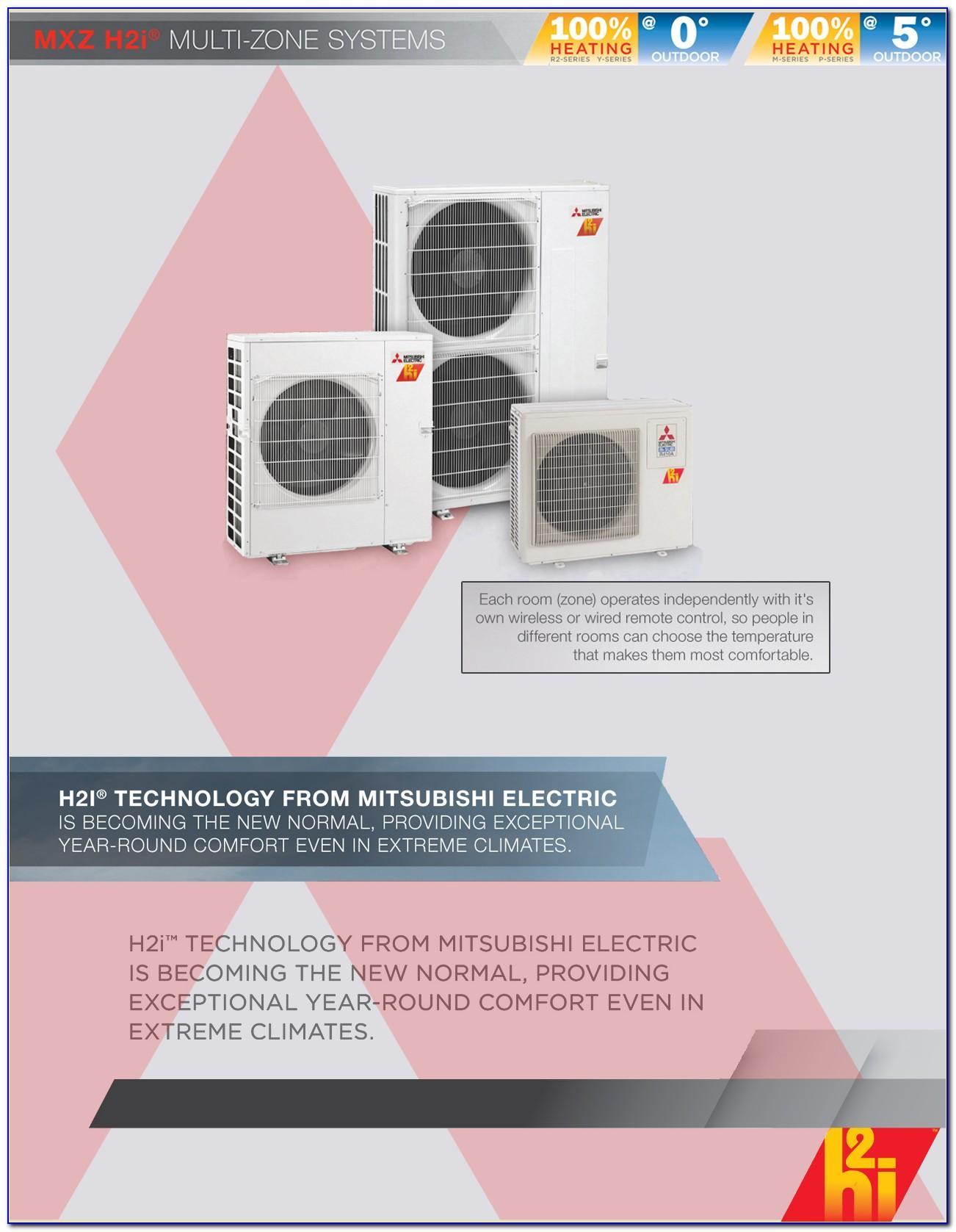 Mitsubishi Ductless Heat Pump Brochure
