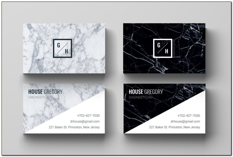 Monat Business Card Template