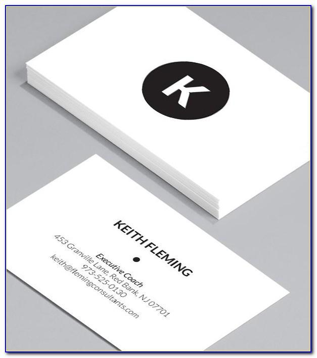 Moo Standard Business Card Template