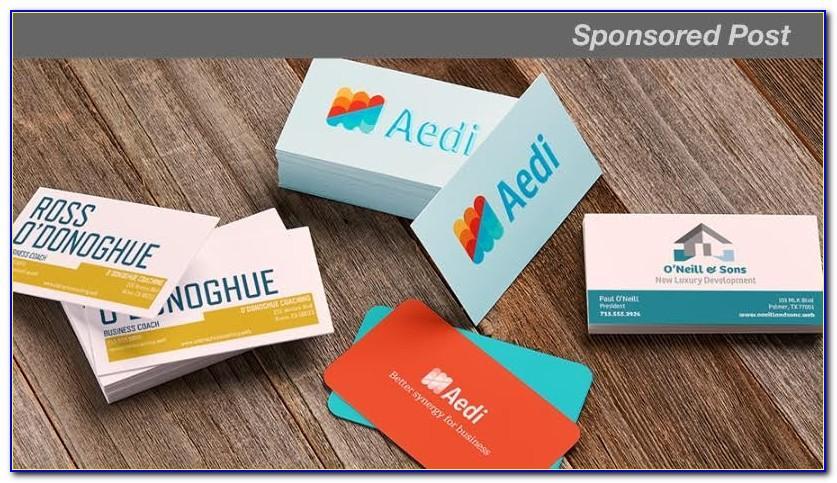 Mountable Business Card Holder