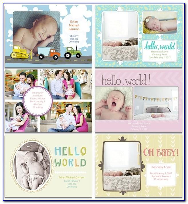 Mpix Birth Announcements