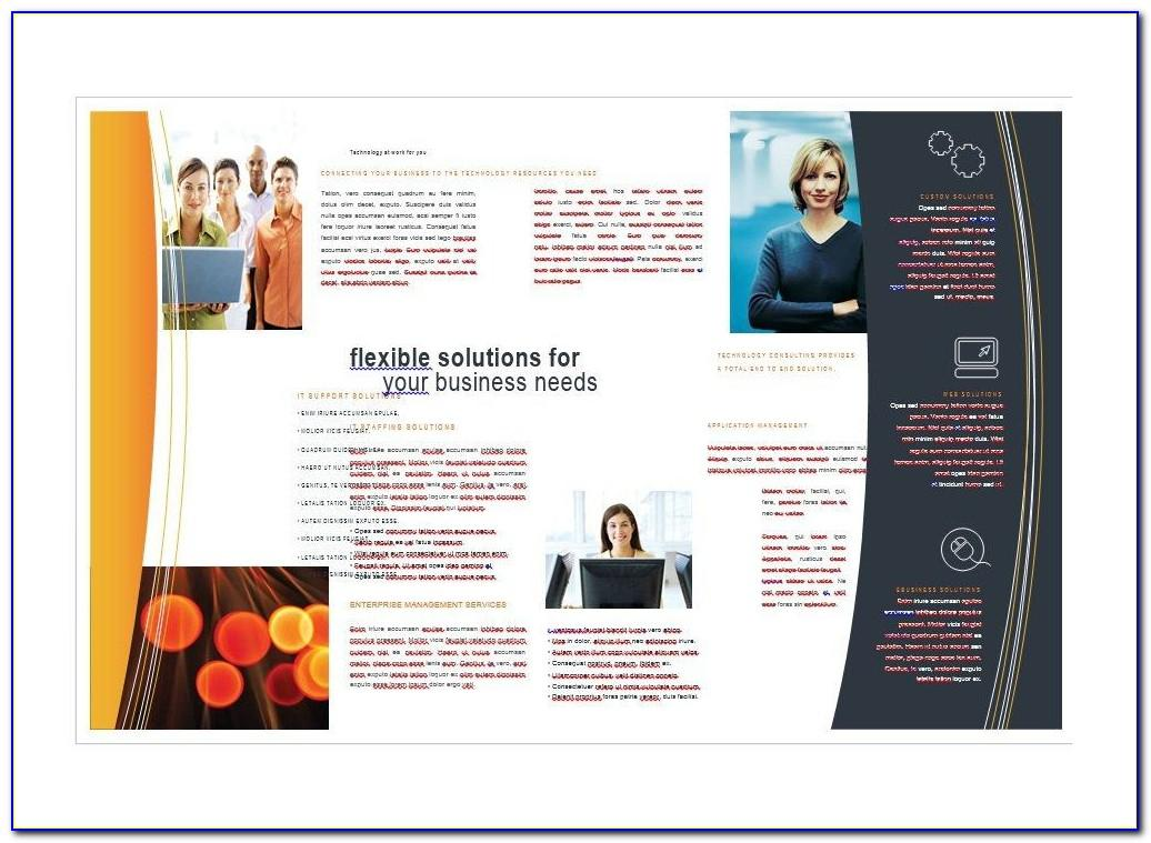 Ms Publisher Brochure Templates Free Download
