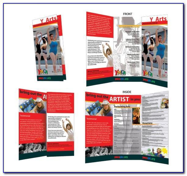 Ms Word Tri Fold Brochure Template