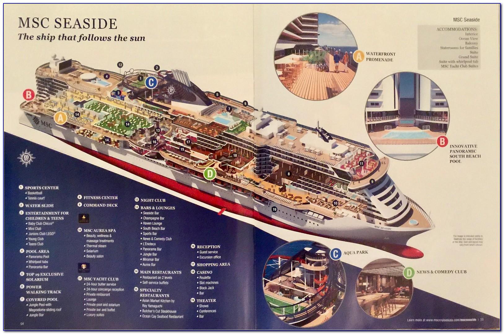 Msc Cruise Brochure By Post