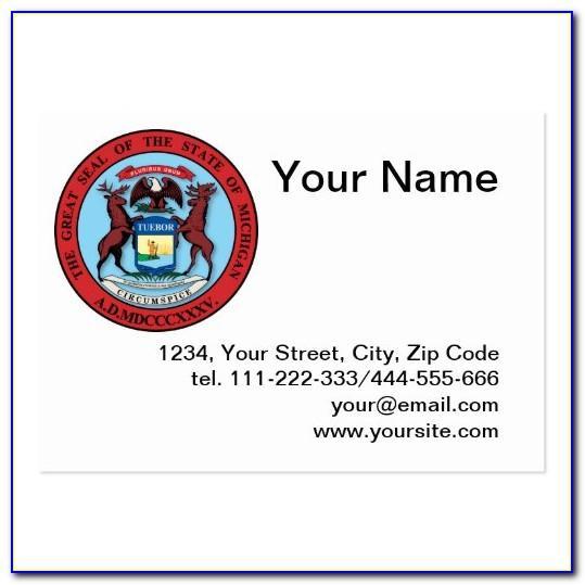 Msu Printing Business Cards