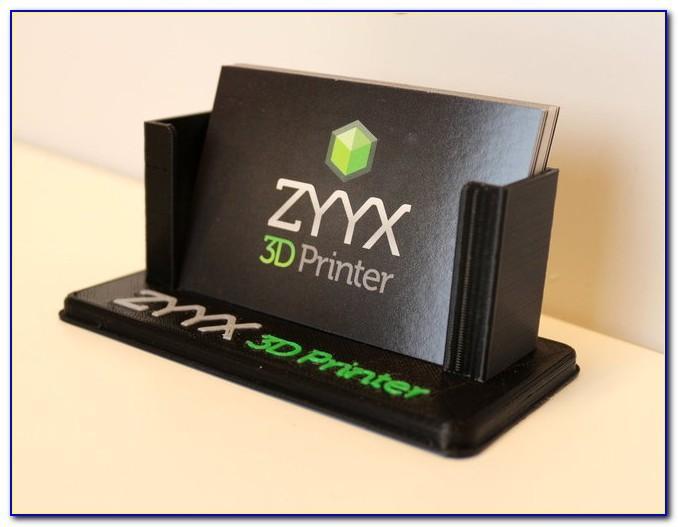 Multi Level Business Card Holder