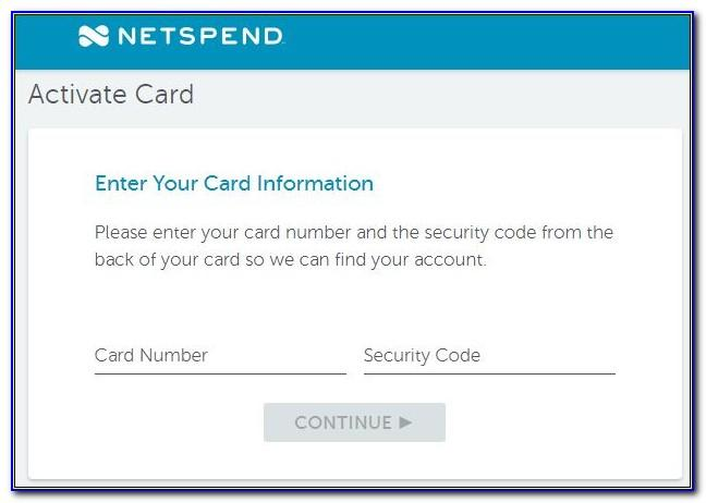 Netspend Business Credit Card
