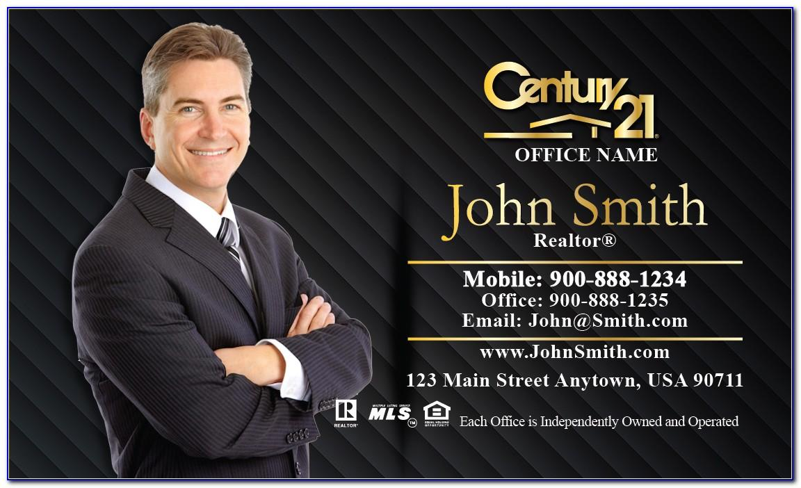 New Century 21 Business Cards