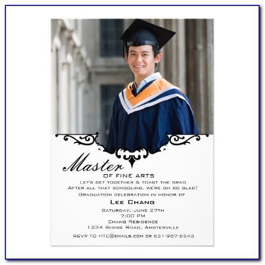 Newspaper Graduation Announcement Template