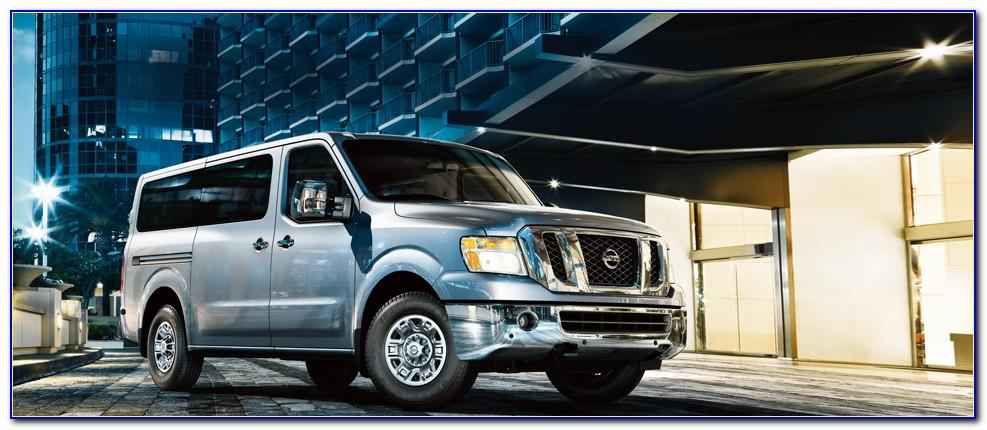 Nissan Nv Passenger Brochure