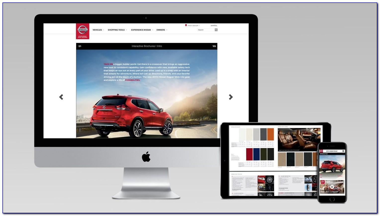 Nissan Rogue Interactive Brochure