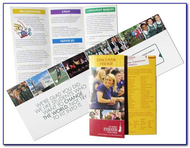 Non Profit Organization Brochure Template