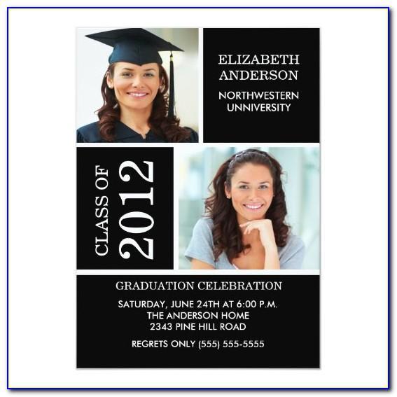 Northwestern State University Graduation Invitations
