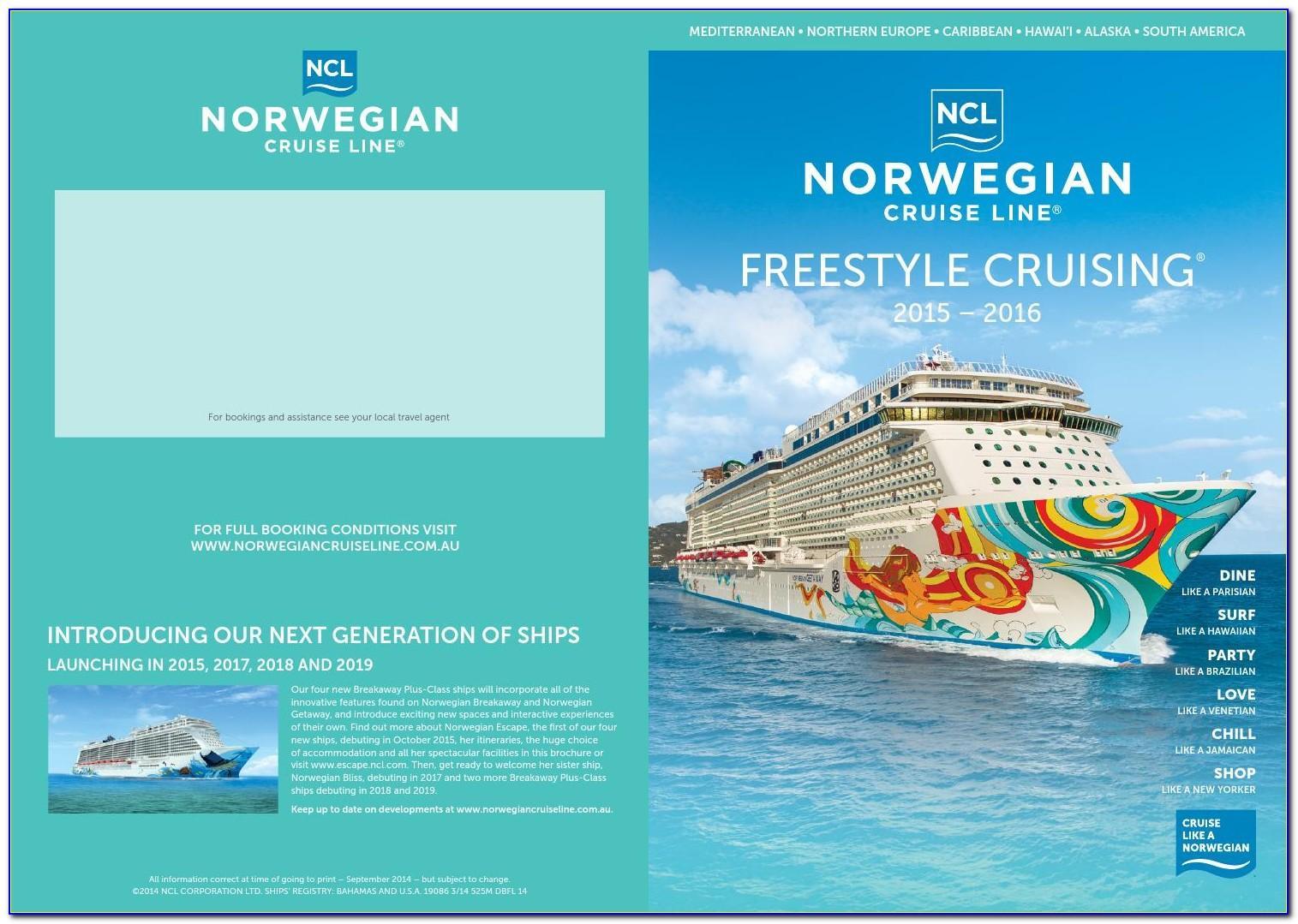 Norwegian Getaway Brochure