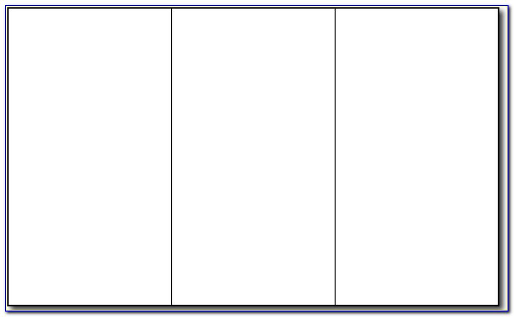 Office Tri Fold Brochure Template