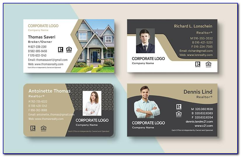 Order Century 21 Business Cards