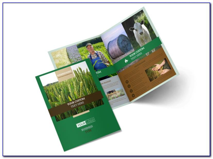 Organic Farming Brochure Template