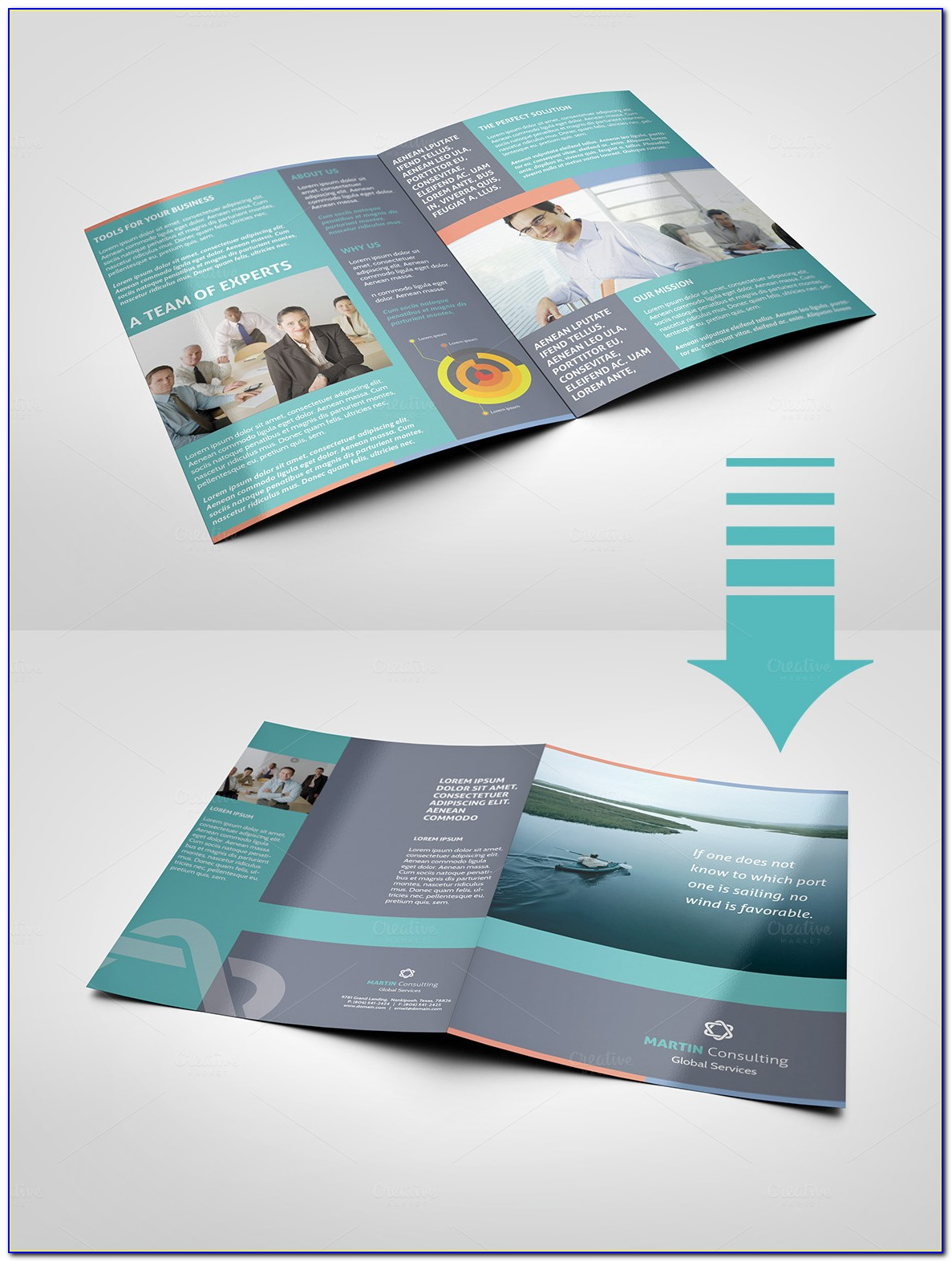 Pages Brochure Format