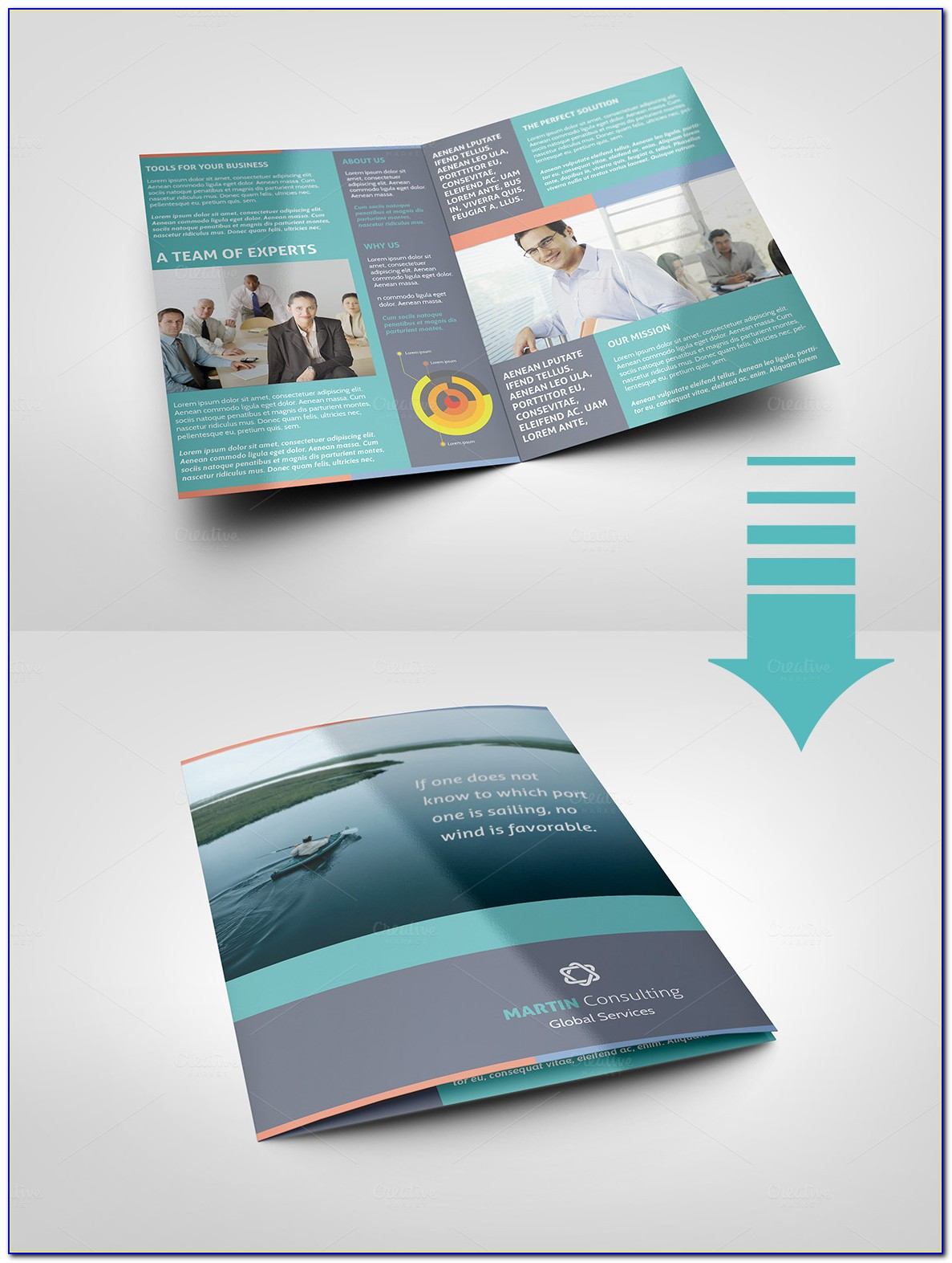 Pages Brochure Layout
