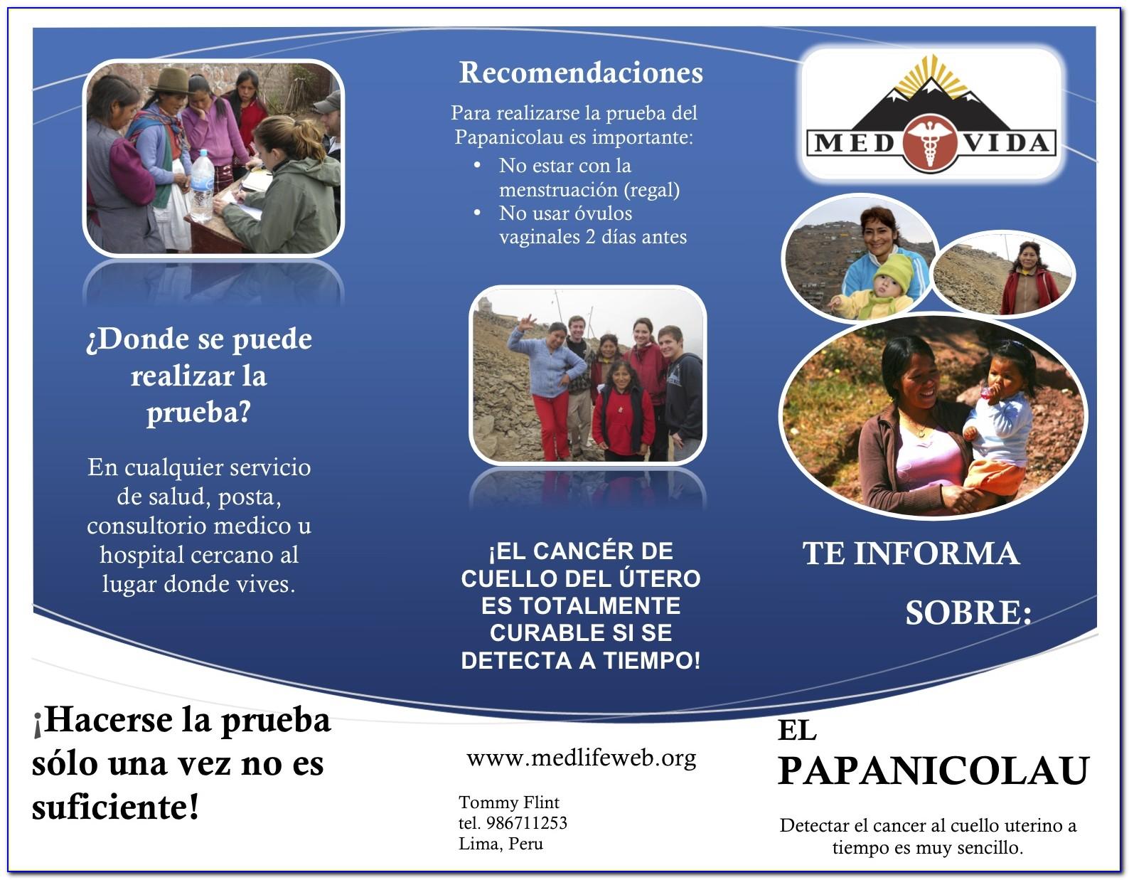Pap Test Brochure