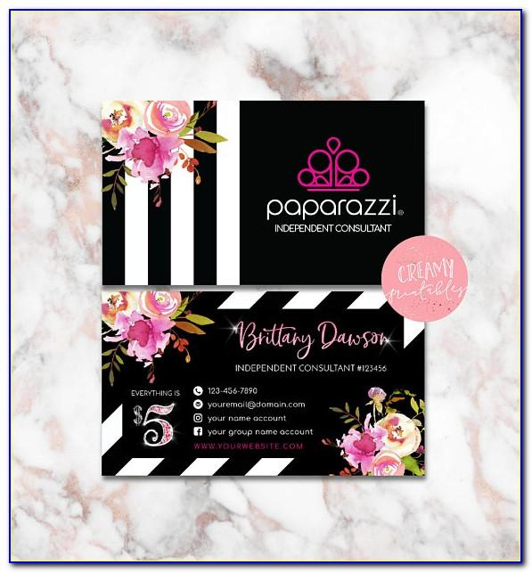 Paparazzi Business Card Ideas