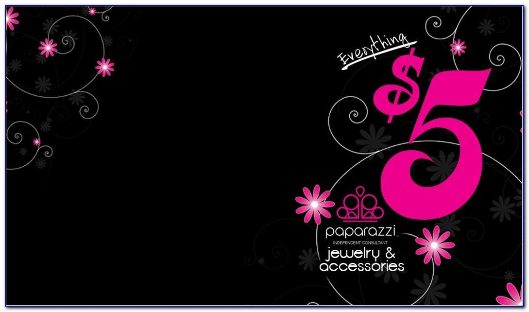 Paparazzi Business Card Template
