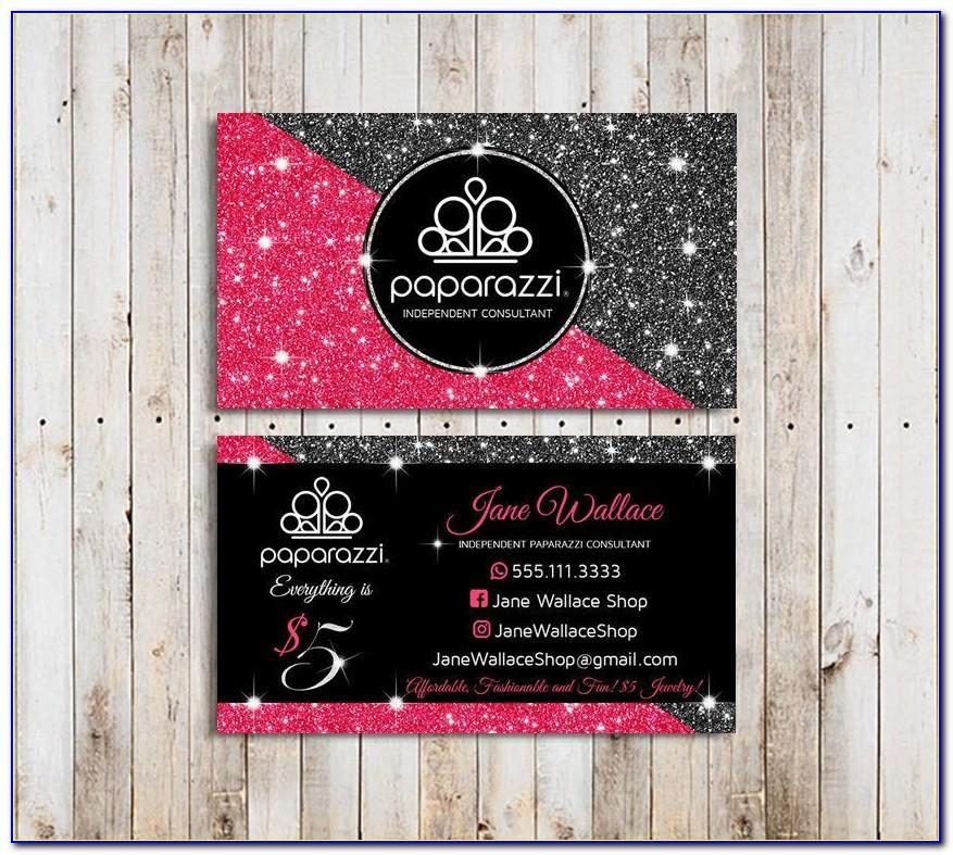 Paparazzi Business Cards Vistaprint