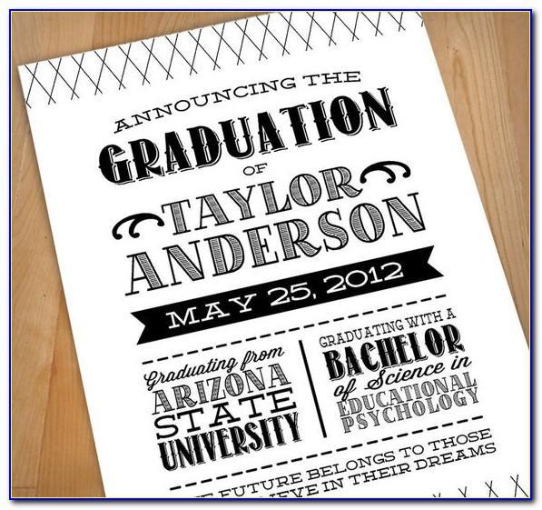 Pear Tree Graduation Announcements