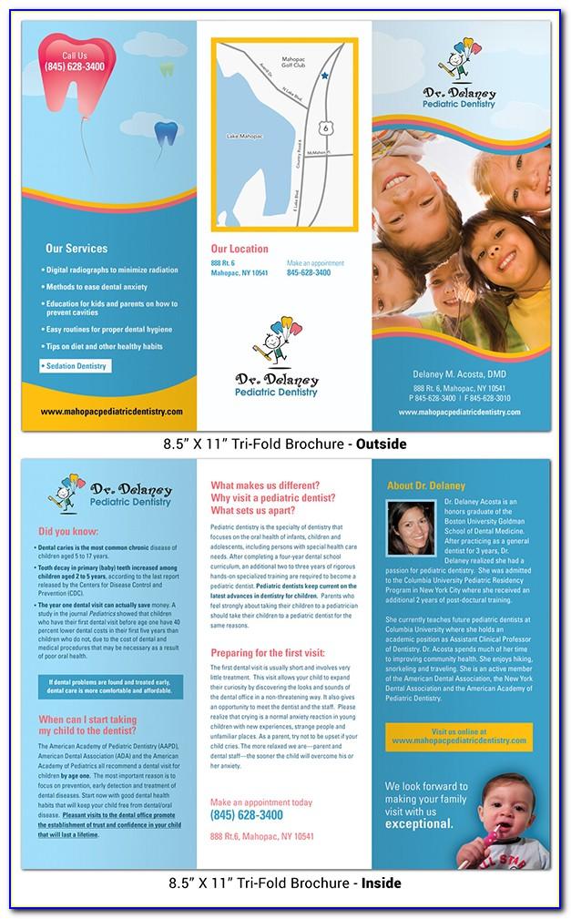 Pediatric Dental Brochures